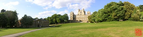 Wollaton Hall and Wollaton Courtyard