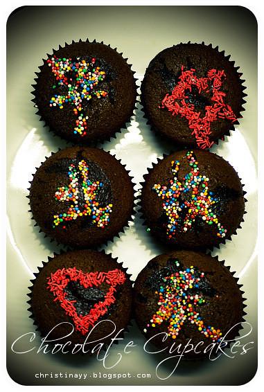 Home-made Chocolate Cupcakes