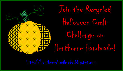 2010 Recycled Halloween Craft Challenge