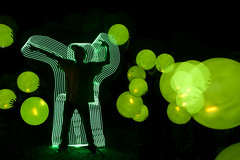 (Justin.photo) Tags: light summer camp male guy college ikea silhouette night ball painting media long exposure maine orb rubber led flashlight bro workshops