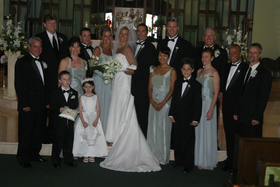 Bill and Dianne Jeffers Palm Beach Wedding