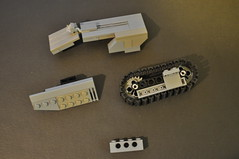 Scorpion Tank Tread System (Vengeance of Lego) Tags: 2 3 1 tank lego 5 4 halo system scorpion reach tread odst