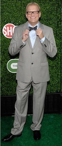 Skinny, sad Drew Carey