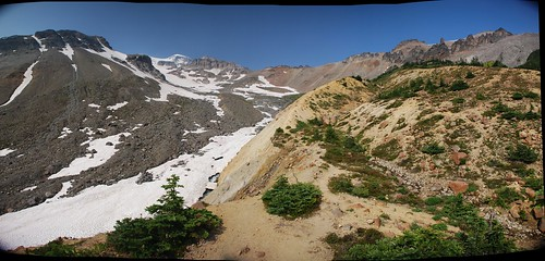 View from beyond the Glacier Basin Trail, Mount Rainier National Park, WA