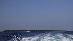 Ψαθούρα (Θέουσα) (Dominik Truschner) Tags: sea canon boats eos meer august boote greece 7d griechenland canoneos 2010 kielwasser sandstrand sporaden ägäis aegansea eos7d canoneos7d canon7d psathouratheousa ψαθούραθέουσα