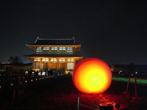 平城宮跡夏季フェア「光と灯りのフェア」-04