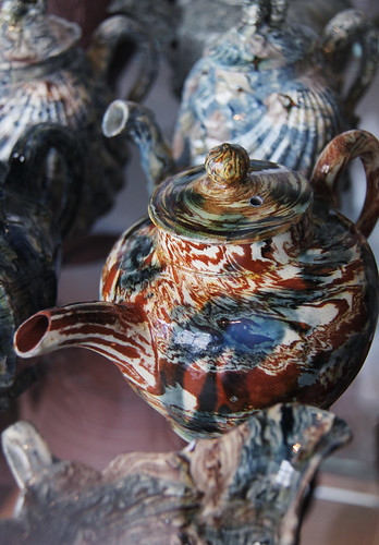Agate earthenware