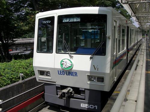西武鉄道8500系電車/Seibu Railway 8500 Series EMU