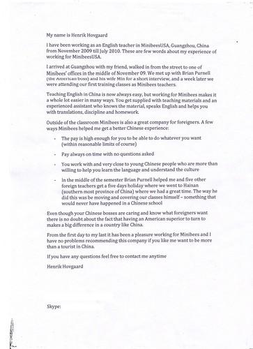 recommendation letter for dental assistant