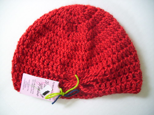 Hat from Swap, made by NolaHooksNBooks