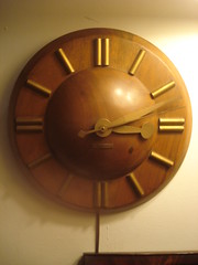 """Seth Thomas mid-century wall clock • <a style=""""font-size:0.8em;"""" href=""""http://www.flickr.com/photos/51721355@N02/4913677944/"""" target=""""_blank"""">View on Flickr</a>"""