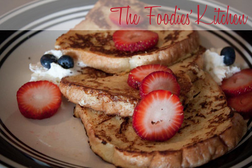Yogurt French Toasts