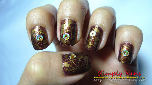 Nail Art Abstract 03