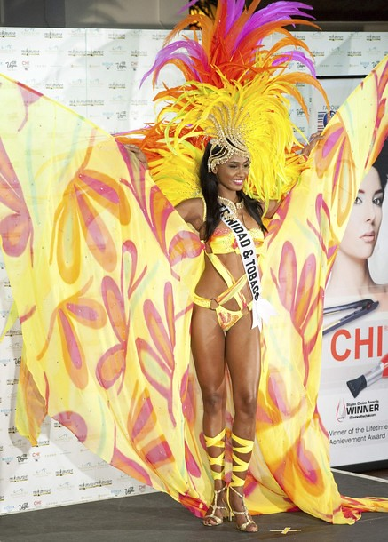 National Costume of Miss Trinidad & Tobago