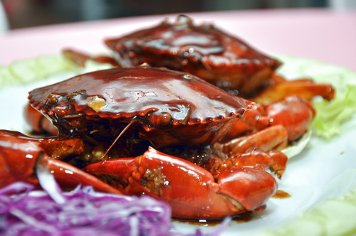 Marmite Crab at Mei Xichuan Restaurant