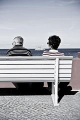 Sitzen I (tout droit) Tags: strand meer sommer rgen binz