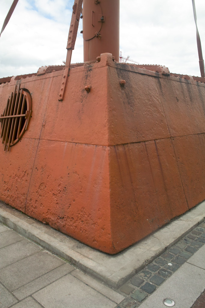 Dublin Docklands - Old Diving Bell