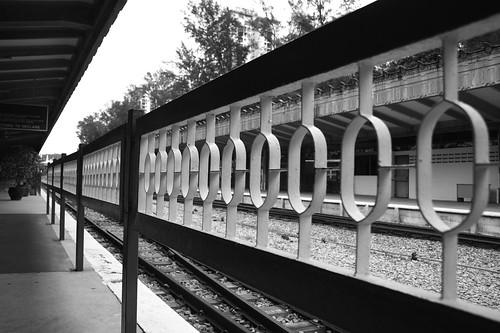 Tanjong Pagar Railway Station - Fence