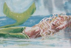 Study-mermaid- (Mark Partington on flickr) Tags: sea mer beauty nudes romance mermaids mermaid waternymphs seagodess markpartington naids figureativefineart