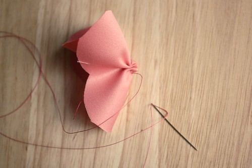 Step 6: Pull Thread Tight & Tie Ends