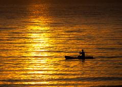 Nelayan Pagi (Ai-Gie (Back in Malaysia)) Tags: morning light sea orange sunrise fisherman kualaterengganu canon450d baturakit