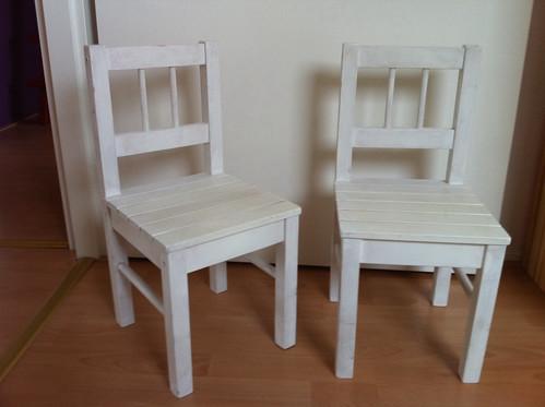 Ikea Stoel Wit : Ikea gulliver houten kinderstoelen wit a photo on flickriver
