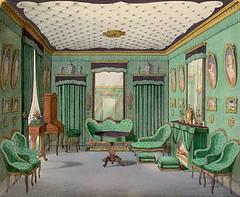 Rococo Revival interior