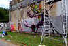 in progress (mrzero) Tags: festival wall graffiti character style crew slovakia cans jam kosice cfs mrzero ironlak sior coloredeffects böki streetartcommunication