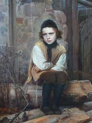 St. Petersburg '10 (faun070) Tags: stpetersburg russianmuseum kramskoi russianpainting jewishboy kramskoy aggrievedjewishboy