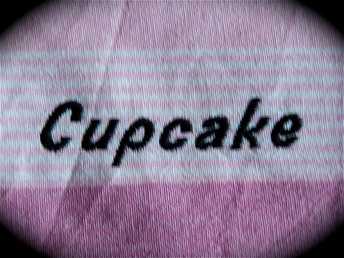 Make it a cupcake! Decorative tea towel.