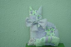 Gatinho patch (Artesanale artes) Tags: gato patchwork decoração tecido enfeite sache