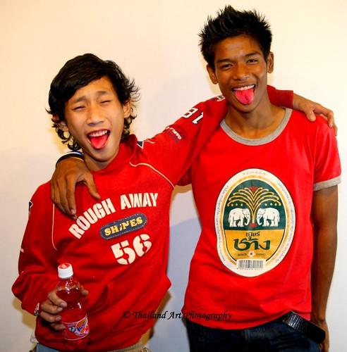 Red Fanta Thai Boys