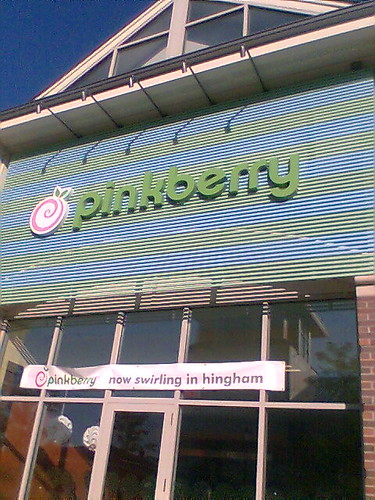 pinkberry nearby, finally