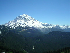 Mount Rainier from Tolmie Peak