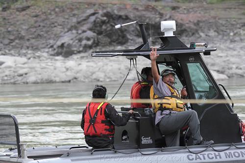 Fish Monitoring Boat