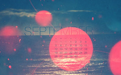 September 2010 Calendar (kriegs) Tags: desktop pink sea wallpaper art photoshop calendar widescreen digitalart september helvetica desktopwallpaper 1920x1200 ocen iphonewallpaper androidwallpaper