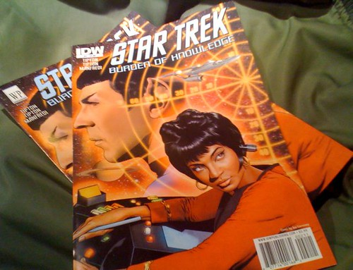 "Comparing IDW and WP ""Star Trek"" comics"