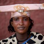 Miss Betumondo, Herero woman in Opuwo - Namibia