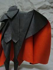 Dracula (3) (the real juston) Tags: halloween paper frank origami vampire nosferatu graf bat christopher dracula edward lee bela papiroflexia challenge monthly folding gorey vampyre count lugosi vampir castlevania juston  langella orlok