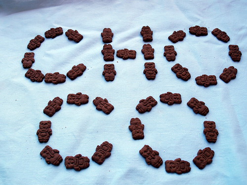 Choco - Bamsekiks - Teddy Bear Biscuits