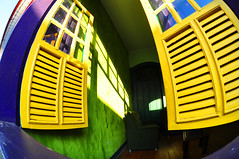 Shutters and Shadows (BongoInc) Tags: brazil brasil shutters pousada 105mmfisheye