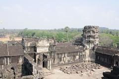 Cambodia Angkor Wat Top