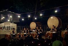 DSC05765 (Mitch'ins) Tags: japan night sony festivals  osaka drumming a200 2009 maxxum50mmf17