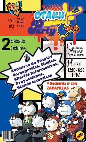 otaku party comic iopa 2010