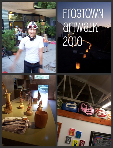 Frogtown Artwalk Collage
