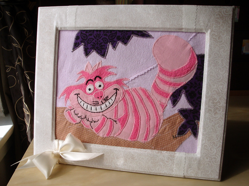 CheshireCat framed