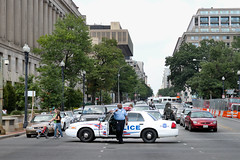 Blocking traffic (theqspeaks) Tags: road street city summer cars car st canon march dc washington al nw day traffic stuck political politics protest dream saturday police august stop civil rights transportation cop vehicle dcist law block 28 enforcement constitution avenue 9th tamron sharpton f28 officer gridlock patrol 2010 reclaiming mpdc 1750mm nationalactionnetwork reclaimingthedream welovedc t1i tamronspaf1750mmf28xrdiiivcldasphericalif