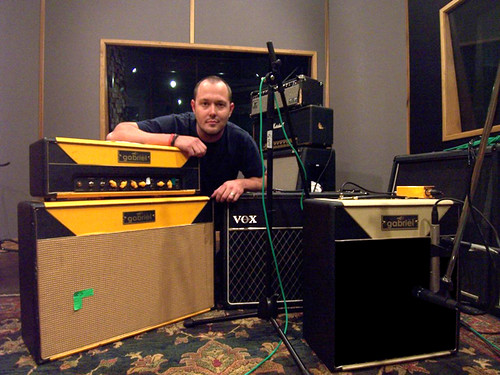 Mike in the studio