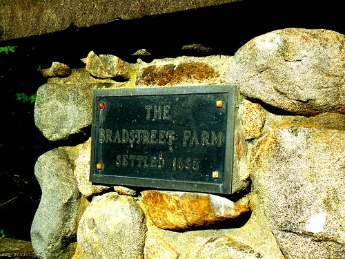 the Bradstreet farm