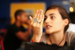 Hand Gestures (Jfkbeatkid) Tags: canon lunch rebel hands hand gaby rings mast academy gestures aroca t1i